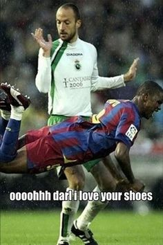 How most people see a game of Soccer..