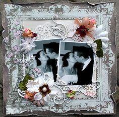 True Love **Dusty Attic** - Scrapbook.com Kaisercraft - Bonjour Collection