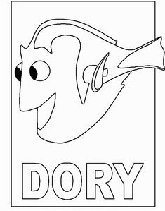 Finding nemo coloring pages Finding nemo and Coloring
