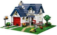 #Lego 5891 | Lego apple tree house | Christmas #Toys 2013