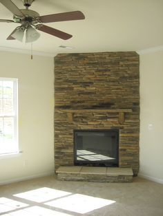 Stone Fireplace Option