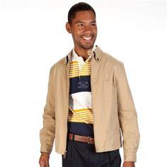 Brooks Brothers Zip Jacket with Button Down Collar   from Von Maur #VonMaur #MensFashion