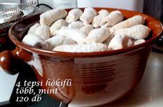 Viki Egyszerű Konyhája: Hókifli Mint, Peppermint