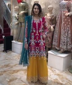 Colour Combinations, Kimono Top, Sari, Color, Tops, Women, Fashion, Color Combos, Saree