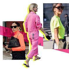 Trend Report: Neon   sheerluxe.com Fashion Degrees, Magazin Design, Instagram Outfits, Fashion Instagram Accounts, Steve Madden, Fashion Graphic Design, Neutral, Website Design Layout, Neon