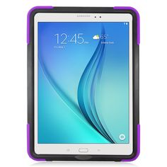 Samsung Galaxy Tab A 9.7 / T550 Hybrid Silicone Case Cover Stand Purple