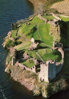 "saw1066: "" Urquhart Castle, Scotland "" More"