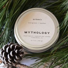 Inspired by Myth Rooted in Nature Candle by MythologyCandles on Etsy (ad)