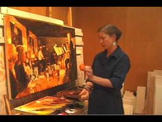 Willow Bader And The Encaustic Process.mp4   I saw her exhibit in Palm Desert and it's beautiful!
