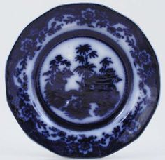 Love This Flow Blue Plate