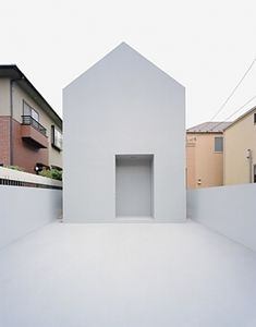 "To know more about Datar Architecture ""The Ghost House"", Japan, visit Sumally, a social network that gathers together all the wanted things in the world! Featuring over 1 other Datar Architecture items too! Minimal Architecture, Residential Architecture, Interior Architecture, Japan Architecture, Minimalist House Design, Minimalist Living, Minimal Design, Modern Minimalist, Modern Home Interior Design"
