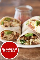Breakfast Burritos | What's Gaby Cooking | What's Gaby Cooking