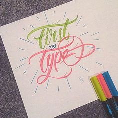 Congrats to @fourquarterking for taking 1st place in the #FirstTryType contest hosted by @joshkrecioch.  #Goodtype #StrengthInLetters