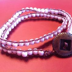 Bohemian Bracelet (This is an unifinished kit ONLY). $15.00, via Etsy.