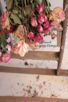 JUST LUV DRIED PINK ROSES!