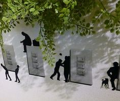 Funky stories wall stickers