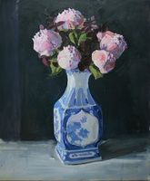 I have just published Peonies in Chinese vase on Artfinder, also see on www.katharinerowe.com