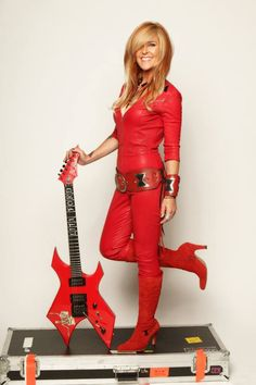 Guitar Girl Magazine - An Ezine about Female Guitarists » Interview with Lita Ford: Relentless in Red Leather
