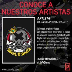 Les presentamos a Alejandro «X2Terra» González, ilustrador digital y uno de los primeros en unirse a nuestro crew. ¡Descubre más sobre nosotros, nuestro producto y nuestros artistas en nuestra página web!