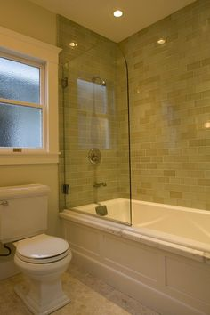 Shower/soaker tub combo