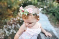 La corona di fiori di pisello dolce neonata fiore nuziale accessori primavera cosplay costume bambino