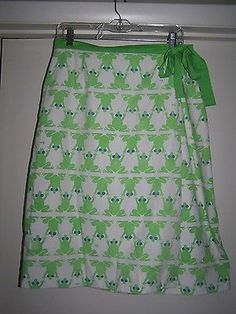 "A Classic:  Vintage Vested Gentress ""Frogs"" Wrap Skirt 