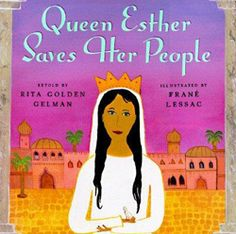 This retelling of the Purim story remains faithful to the Book of Esther and is accompanied by gorgeous folk-art-style gouache paintings. Ages 5 and up.