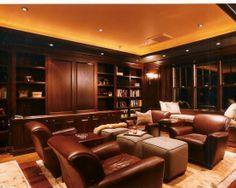 Scotch & Cigar Room - my husband would love this