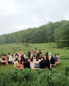 """See the """"The Ceremony"""" in our An Intimate Rustic Wedding in New York gallery"""