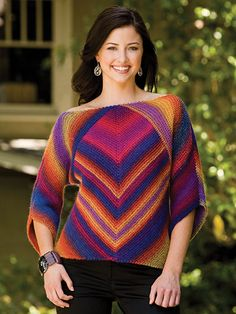 Mitered Magic ... turn a square on-point ... knitting pattern — $3.99