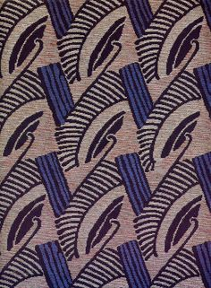 'Cracow' textile design produced by Omega Workshops in 1913.