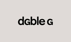 Dgble G. Typogram