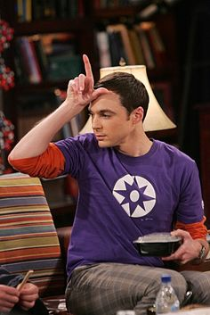 You wanna be! You wanna be a loser like me! See, even Sheldon Cooper is into Glee. xD