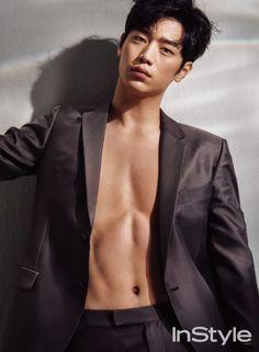 Handsome Seo Kang Joon x InStyle Korean Male Actors, Actors Male, Handsome Actors, Cute Actors, Asian Actors, Korean Men, Actors & Actresses, Most Handsome Korean Actors, Seo Kang Jun