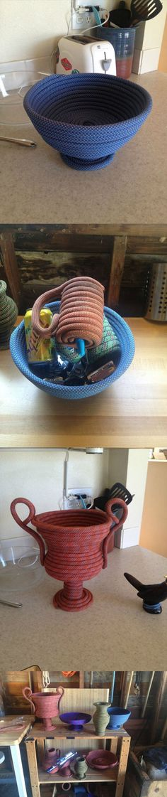 Climbing rope objects DIY...