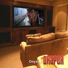 Onyx Matt White Fixed Frame Projection Screen Viewing Area: 92 diagonal Epson Ecotank, Portable Projector, Projection Screen, Video Wall, Extruded Aluminum, Screen Size, Inkjet Printer, Pearl White, Grey