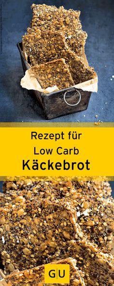 """Einfaches Rezept für Low Carb Knäckebrot aus dem Buch """"Low Carb backen"""". ⎜GU"""