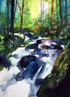 About | Joe Cibere Watercolor Art