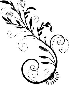 flourish - for the kitchen cabinets Bleach Pen Designs, Arabesque, Damask Decor, Tatoo Henna, Bleach Art, Quilling Patterns, Art Graphique, Pen Art, Swirl Design