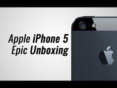 Apple iPhone 5 Epic Unboxing