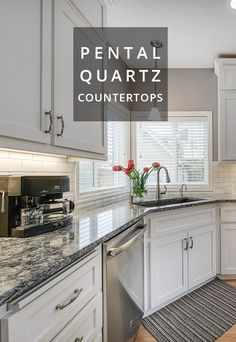 Minosa Granite Countertops From Pental Surfaces. Built By New Leaf Cabinets  U0026 Counters   Tacoma, WA. | Kitchens | Pinterest | Granite, Granite  Countertops ...