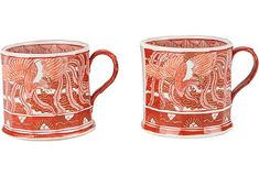 Possibly the most sophisticated coffee mugs #onekingslane