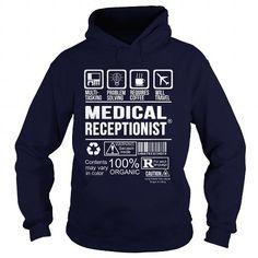 MEDICAL RECEPTIONIST Multi Tasking Problem Solving T-Shirts, Hoodies, Sweatshirts, Tee Shirts (35.99$ ==► Shopping Now!)