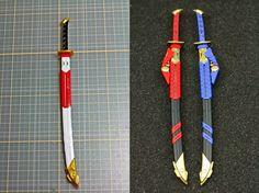 MODELER: Minamp123  MODEL TITLE: N/A  MODIFICATION TYPE:  custom color scheme, custom details  KITS USED: MG 1/100 Gundam Astray Red Frame K...
