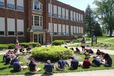 Aquin High School in Freeport Freeport Illinois, Historical Pictures, Dolores Park, High School, Chicago, Travel, News, Viajes, Grammar School