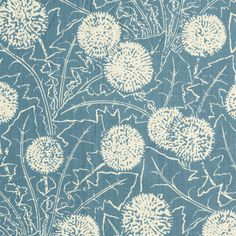 Carolina Irving Textiles - Palermo in China Blue