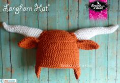 Hey, I found this really awesome Etsy listing at https://www.etsy.com/listing/175873701/texas-longhorn-crochet-hat-university-of