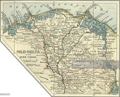 Nile River Map Maps Pinterest Nile River And Geography - Map of egypt delta