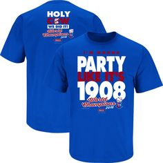 Chicago Cubs Fans. 2016 Champions - Party Like It's 1908. T-Shirt