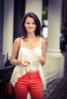 Simona la #ascultacumine pe www.alexdamian.ro Camisole Top, Tank Tops, Women, Fashion, Moda, Halter Tops, Fashion Styles, Fashion Illustrations, Woman